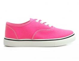 Žiarivé ružové tenisky